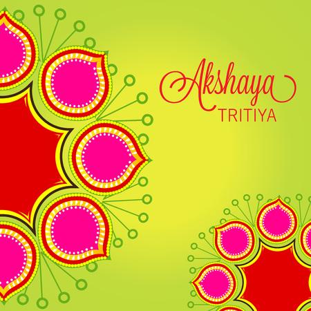 Akshaya Tritiya. Ilustração