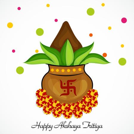 Akshaya Tritiya. Illustration