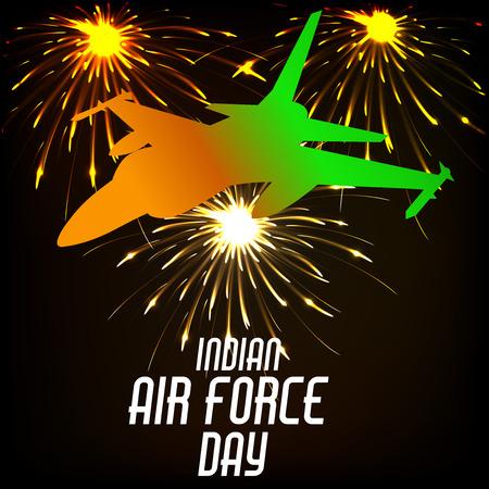 Día de la Fuerza Aérea de la India.