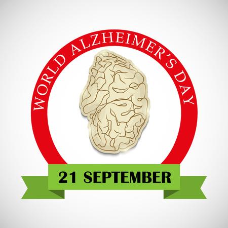 World Alzheimer's Day poster design