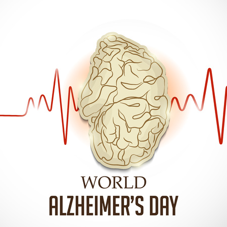 World Alzheimers Day template design