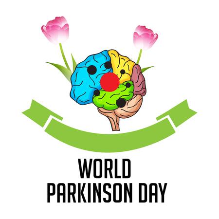World Parkinson Day banner design concept