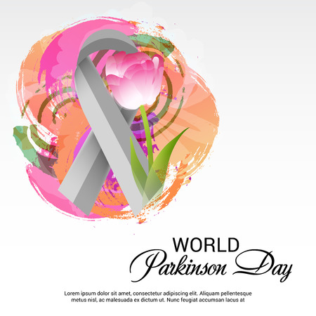 World Parkinson Day banner design concept