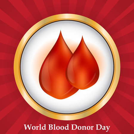 World Blood Donor Day. Illustration