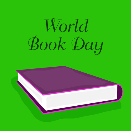 World Book Day illustration. 版權商用圖片 - 101910739