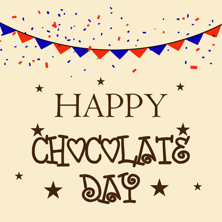 International Chocolate Day illustration.