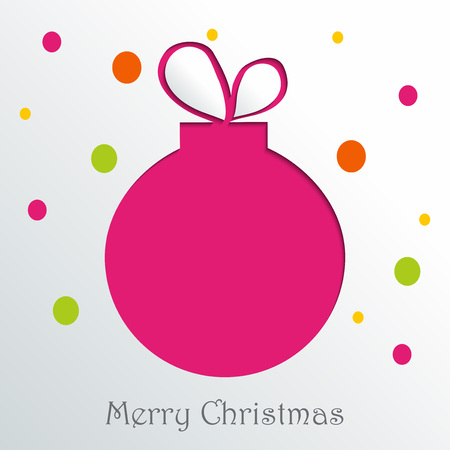 Merry Christmas illustration.