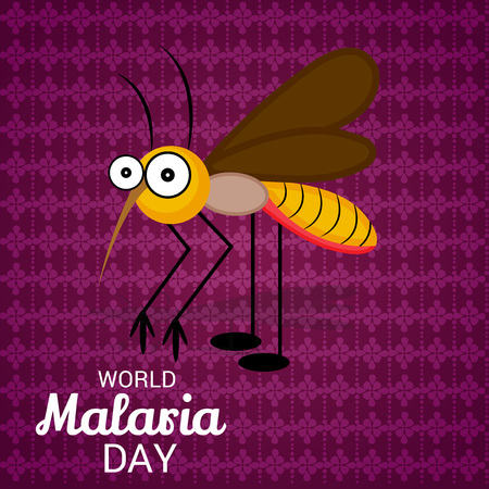 World Malaria Day design poster