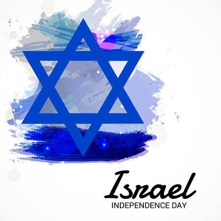 Israel Independence Day. 矢量图像
