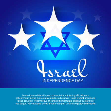 Israel Independence Day. Illustration