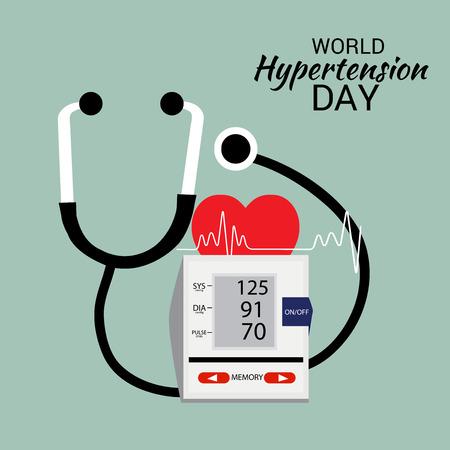 Journée mondiale de l'hypertension.