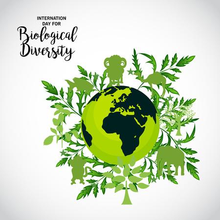 Journée internationale de la diversité biologique.