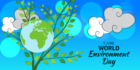 World Environment Day. Ilustrace