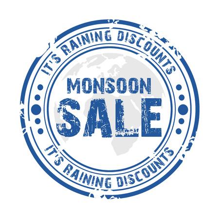 Happy Monsoon.  イラスト・ベクター素材