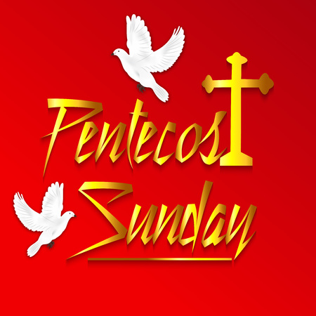 Pentecost Sunday. Stockfoto - 102922877