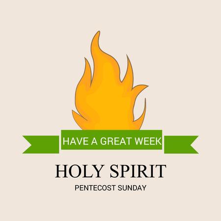 Pentecost Sunday.