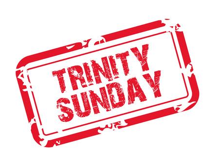 Trinity Sunday. Stockfoto - 102922973