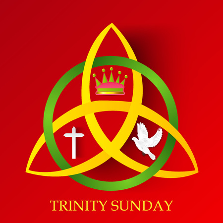 Trinity Sunday. Banque d'images - 102923037