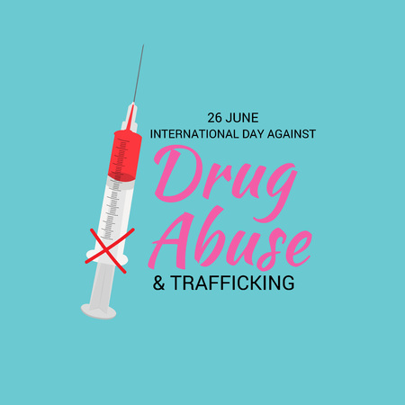 International Day against Drug Abuse.