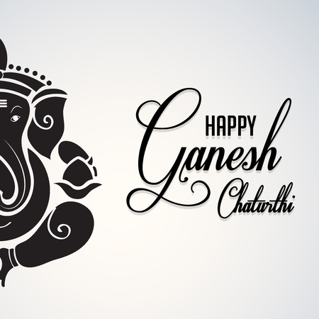 Ganesh Chaturthi. Illustration