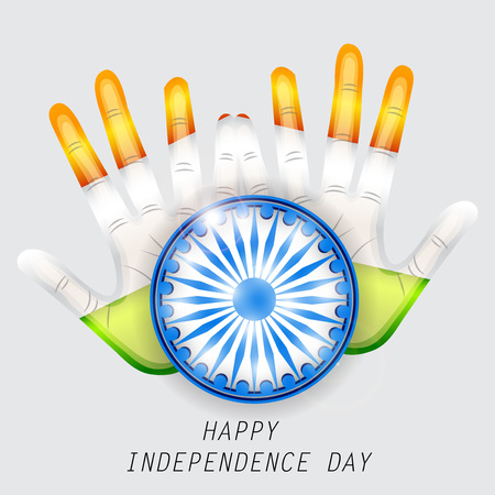 Happy Independence day India Illustration