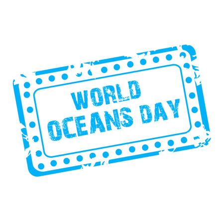 World Ocean Day. Ilustração