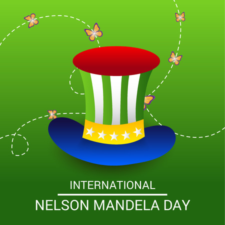 International Nelson Mandela Day. Illustration