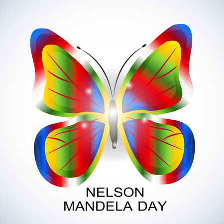 International Nelson Mandela Day. Stock Illustratie