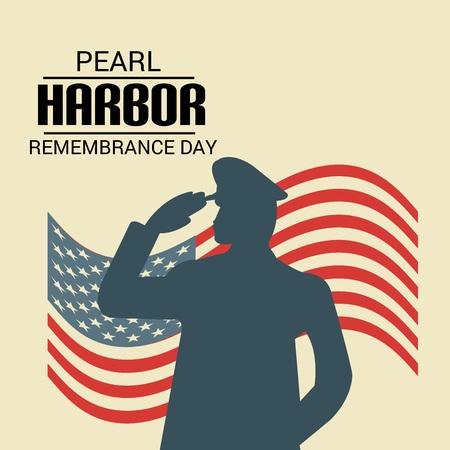 Giorno della Memoria di Pearl Harbor. Vettoriali