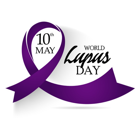 World Lupus Day. Stock Illustratie