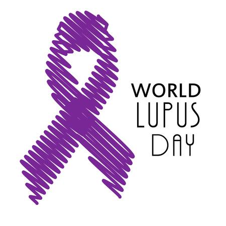 World Lupus Day. Çizim