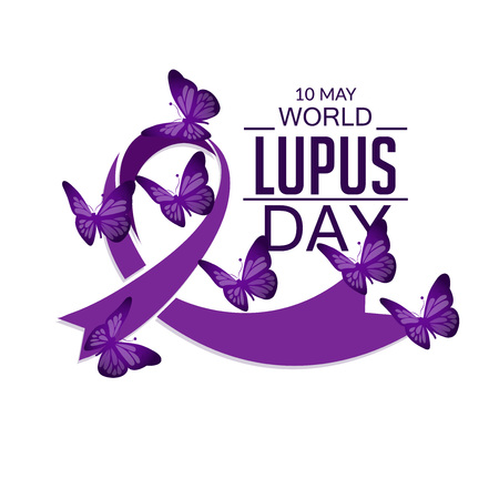 World Lupus Day. 向量圖像