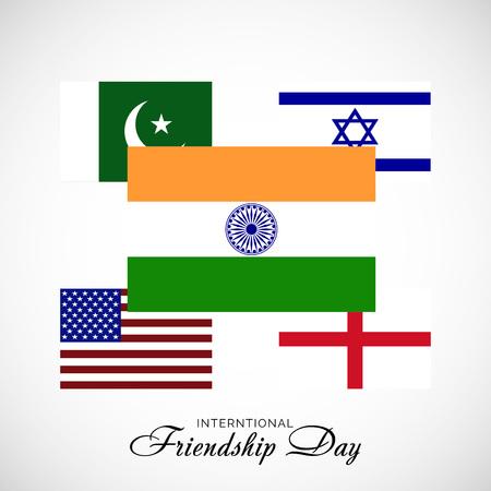 Happy Friendship Day. 向量圖像