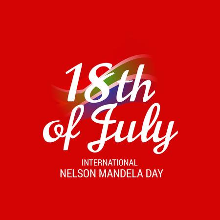 International Nelson Mandela Day.