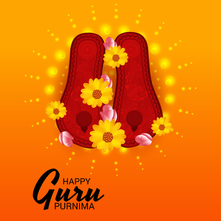 Happy Guru Purnima. 일러스트