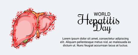 World Hepatitis Day. Vecteurs