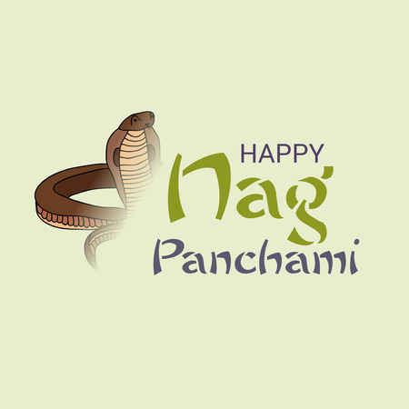 Happy Nag Panchami. Çizim