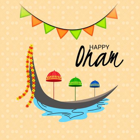 Happy Onam. Stock Vector - 106165534