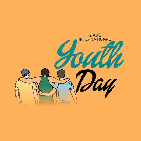 International Youth Day. Banco de Imagens - 106538236