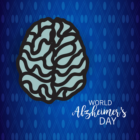 World Alzheimer's Day. Illustration