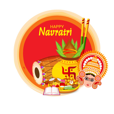 Happy Navratri Celebration.