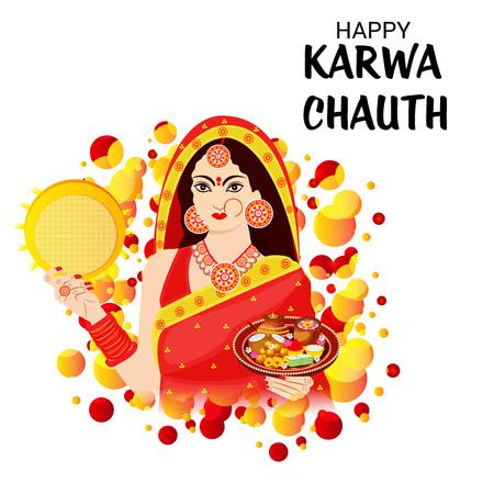 Glücklicher Karwa Chauth.