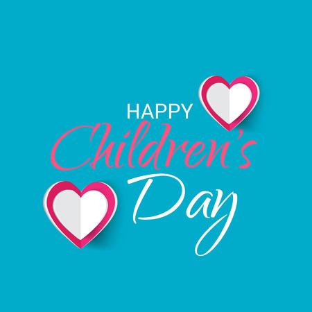 Happy Childrens Day. Illustration