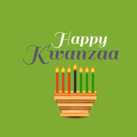 Happy Kwanzaa. Illustration