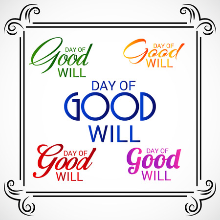 Day of Good Will.