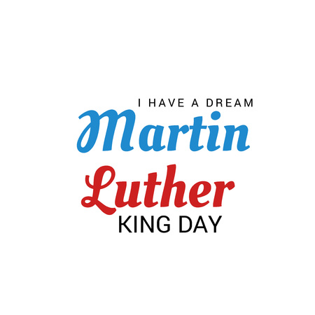 Illustration of Martin Luther King Day.
