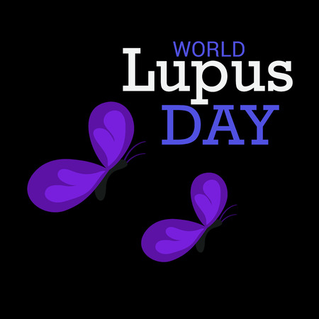 World Lupus Day. Stock Vector - 122826338