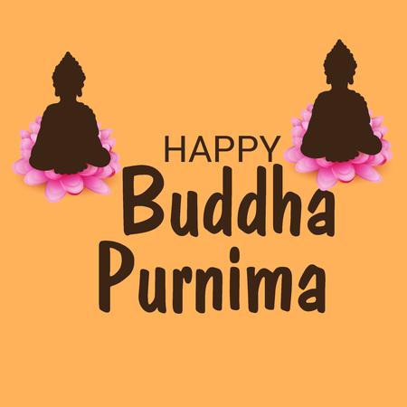 Happy Buddha Purnima. Stockfoto - 122832890