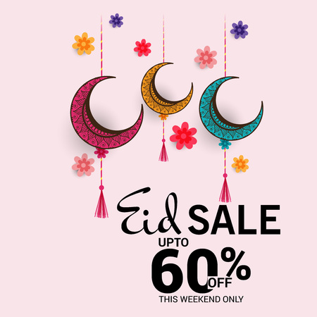Eid Mubarak sales in pink