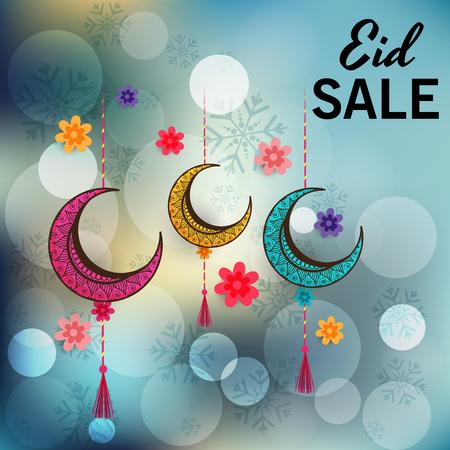 Eid Mubarak sales in dark